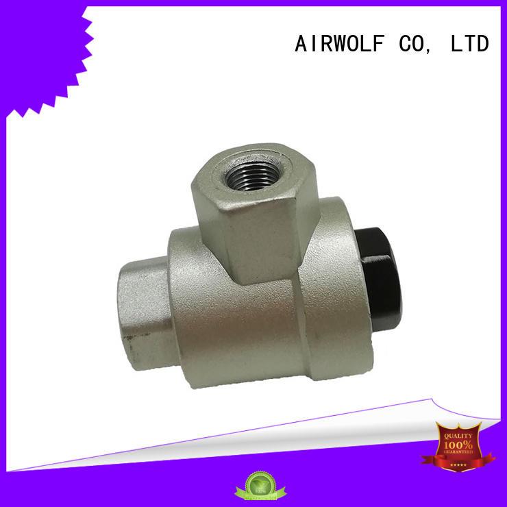 aluminium alloy pneumatic valve custom for sale