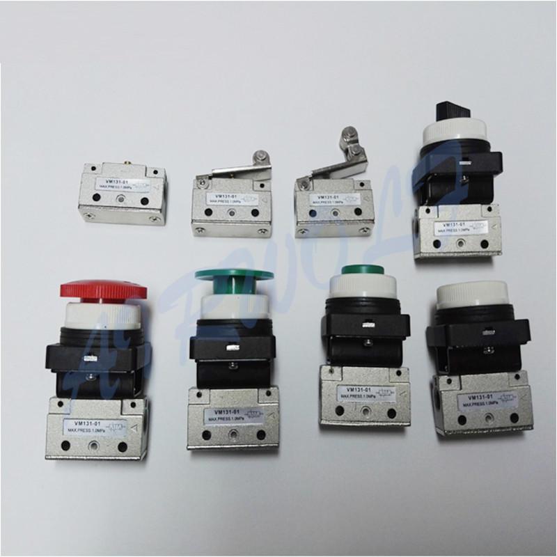 AIRWOLF mechanical pneumatic manual valves push bulk production-1