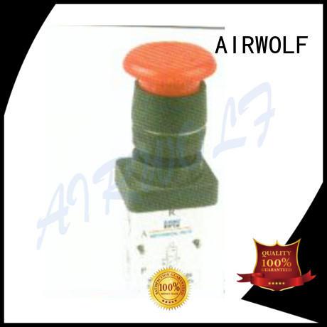 AIRWOLF manual pneumatic manual control valve mini bulk production