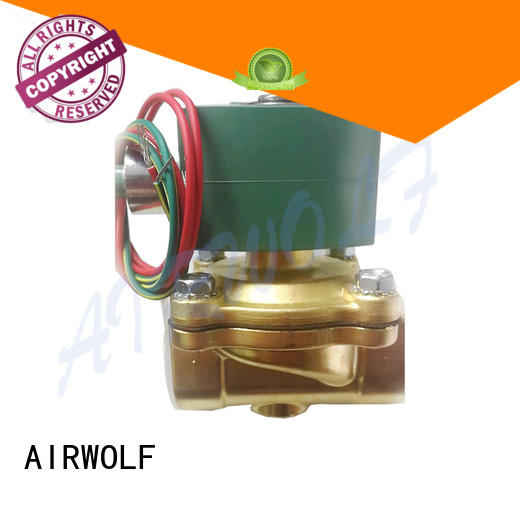 high-quality single solenoid valve body liquid pipe