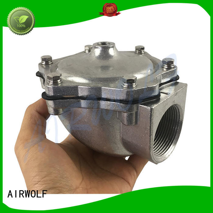 remote anti pulse valve aluminum alloy custom dust blowout