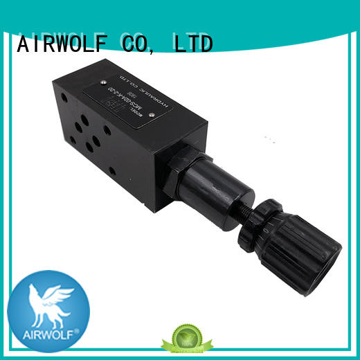 AIRWOLF cheap hydraulic flow control valve at discount for water opening