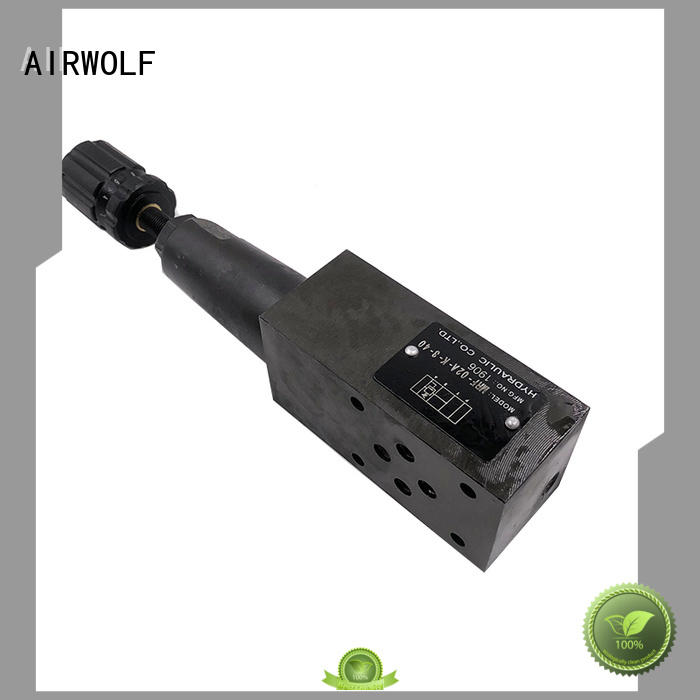 AIRWOLF hydraulic proportional valve low-cost for gas opening