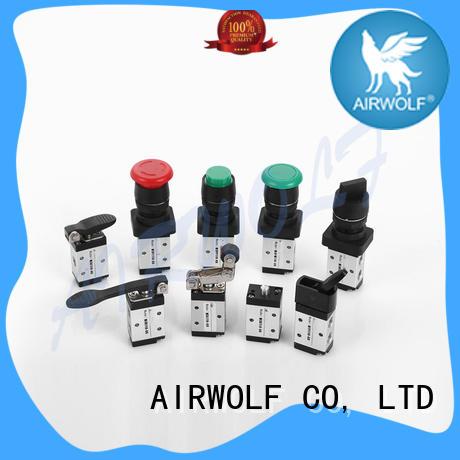 custom push button pneumatic air valve silver at discount AIRWOLF