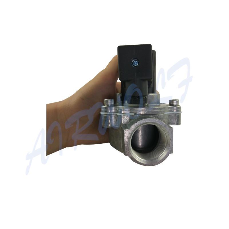 Norgren type 8296300.8171 internal thread G 3/4 Aluminium DC or AC pulse jet solenoid valve