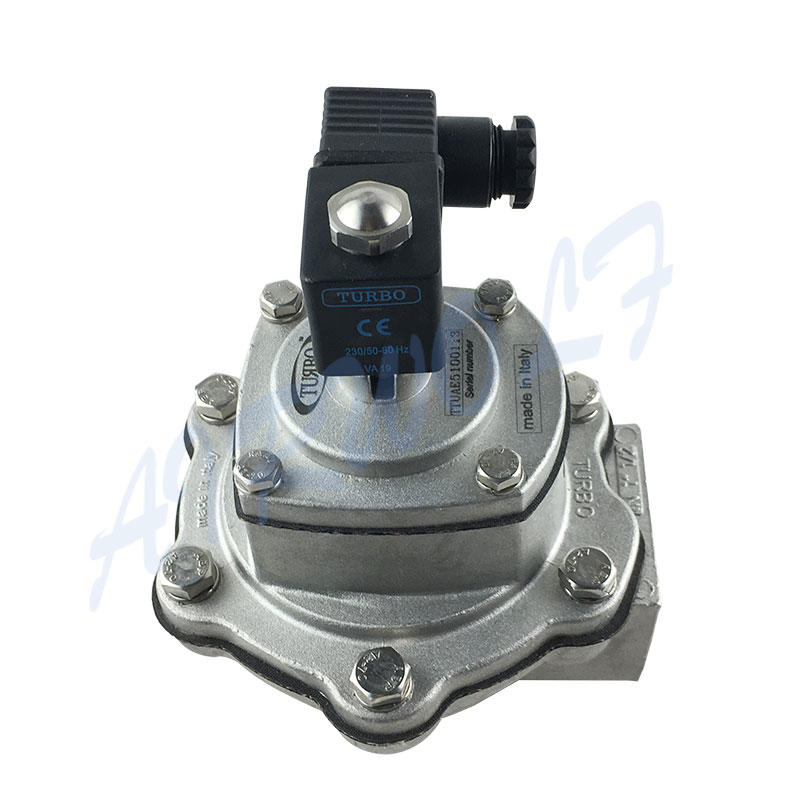 Turbo Type Pulse jet valve FP40 FM40 1 1/2 inch Aluminium alloy