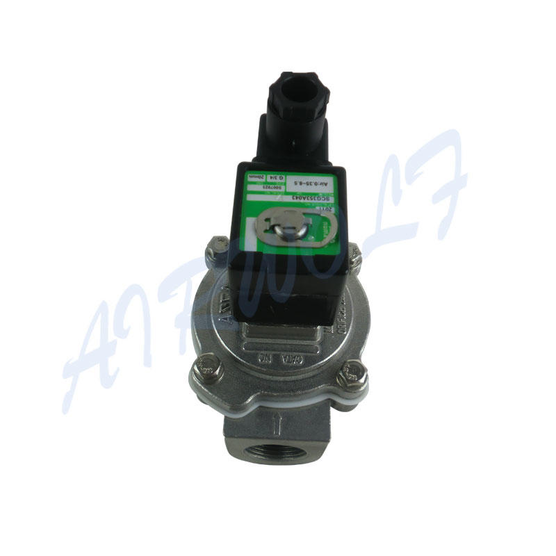 ASCO type SCG353A043 220VAC Aluminum Alloy 3/4 inch pulse jet valve
