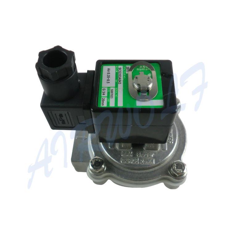 pneumatic mechanical valve silver truck AIRWOLF