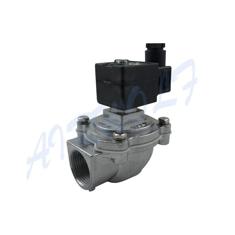 AIRWOLF electronic pulse flow valve custom air pack installation-9