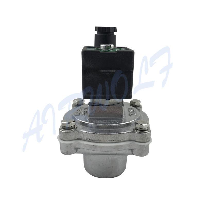 ASCO equivalent G1 silver Aluminum alloy SCG353A044 24VDC Pulse jet valve