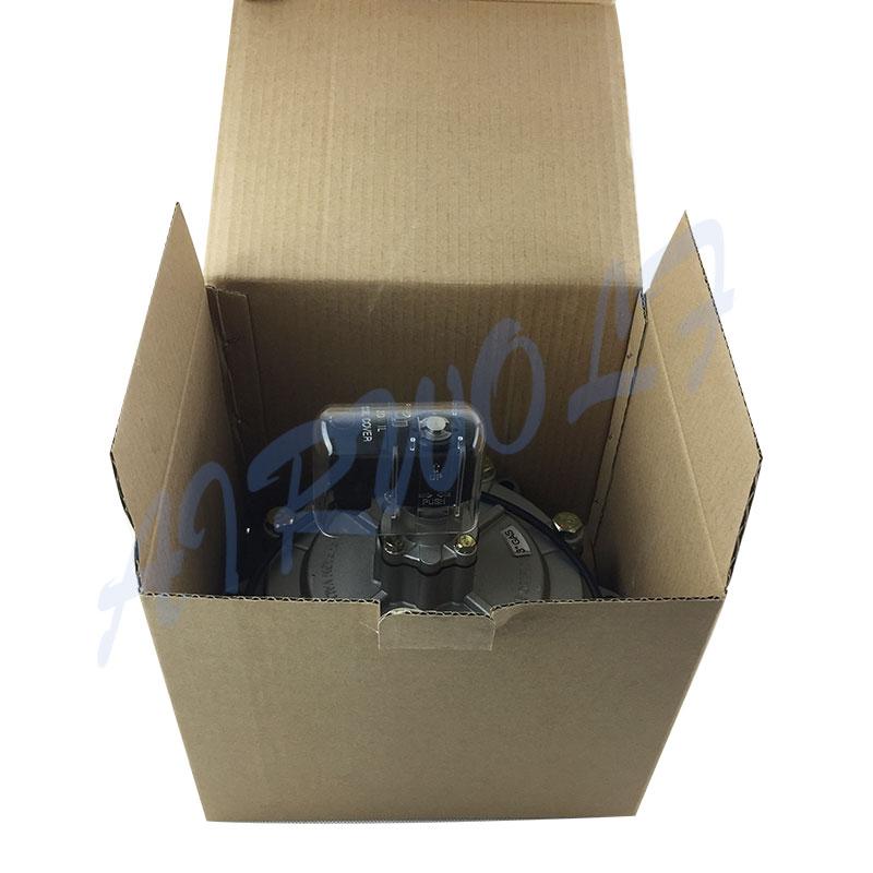 electrically goyen pulse jet valve aluminum alloy custom for sale-4