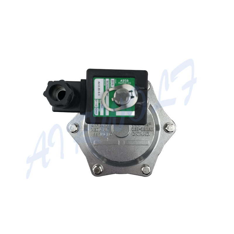 AIRWOLF electronic pulse flow valve custom air pack installation-7