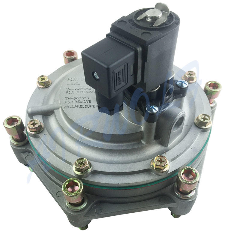 Taeha Type Pulse solenoid valve TH-4475-M Normal Closed Air or Insert gas
