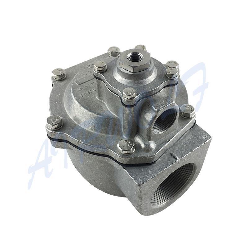pneumatic pulse flow valve brass blowout