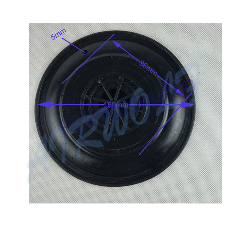 AIRWOLF hot-sale diaphragm valve repair gland textile industry-6