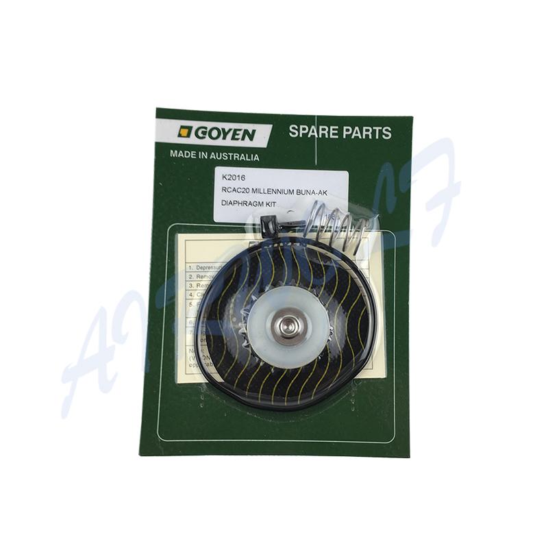 Repair Kits K2016 NBR / K2017 Viton Diaphragm And Spring for Goyen type RCAC20T3 RCAC20ST3 RCAC20DD3 RCAC20FS3-2