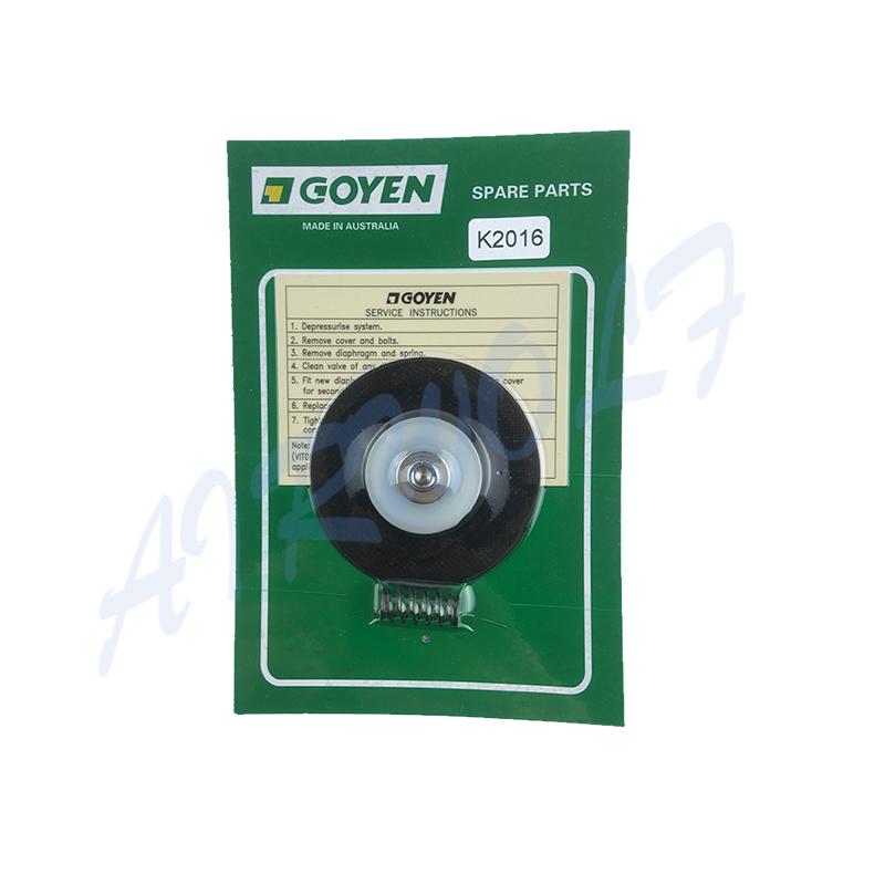 Repair Kits K2016 NBR / K2017 Viton Diaphragm And Spring for Goyen type RCAC20T3 RCAC20ST3 RCAC20DD3 RCAC20FS3-4