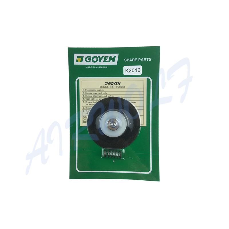 Repair Kits K2016 NBR / K2017 Viton Diaphragm And Spring for Goyen type RCAC20T3 RCAC20ST3 RCAC20DD3 RCAC20FS3-7