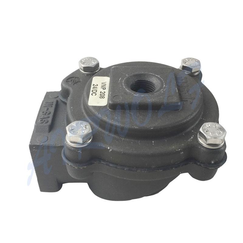 Meacir series 3/4 black Aluminum alloy air control VEM206 VEM208 Pulse jet valve-9