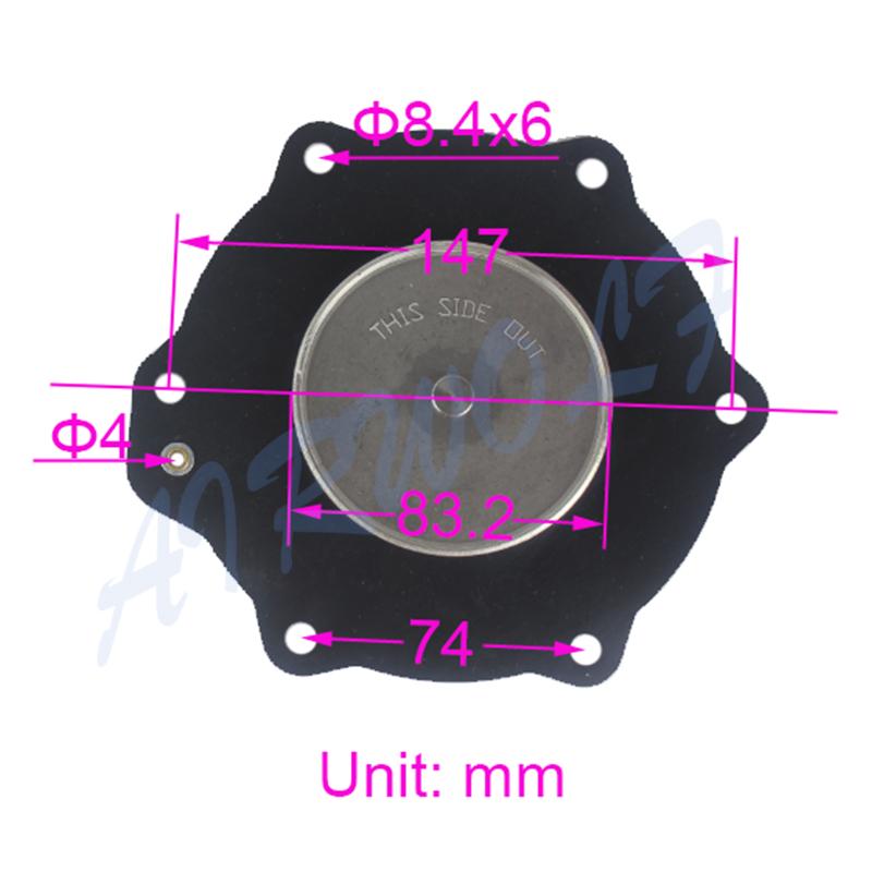 AIRWOLF hot-sale diaphragm valve repair bush dyeing industry-2