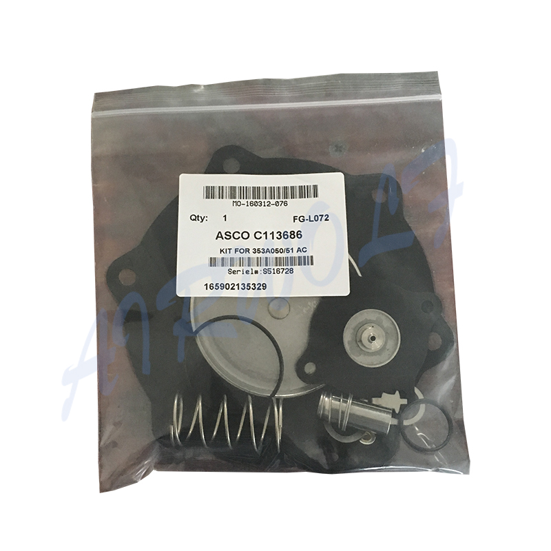 AIRWOLF turbo solenoid valve repair kit circle foundry  industry-5