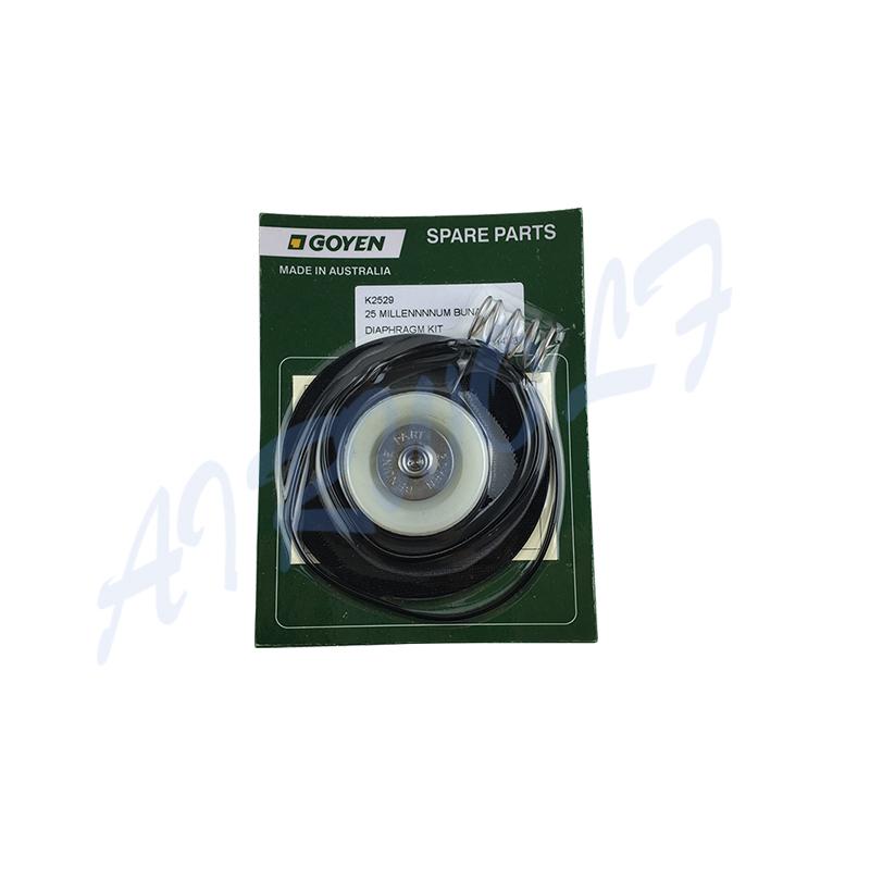 Goyen type RCAC25T3 RCAC25FS3 RCAC25DD3 RCAC25FH3 Pulse valve Diaphragm Repair Kits K2529 Nitrile / K2530 Viton-7