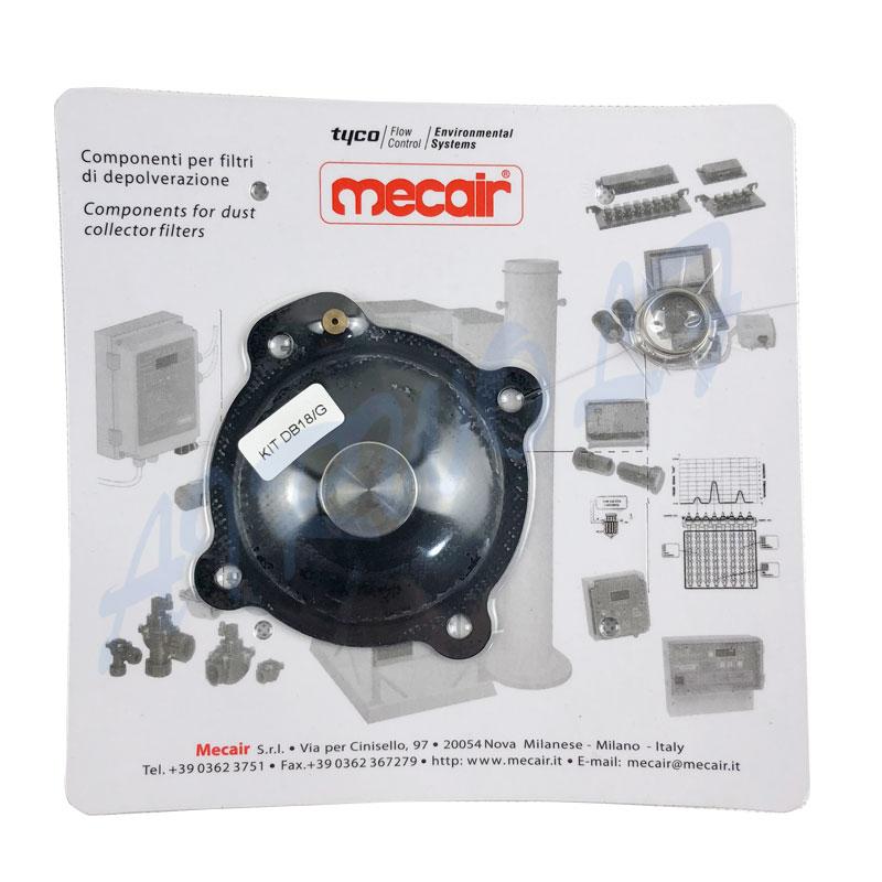 Mecair VNP208 VEM208 VNP308 1 inch nitrile pluse jet valve diaphragm repair kits DB18-7