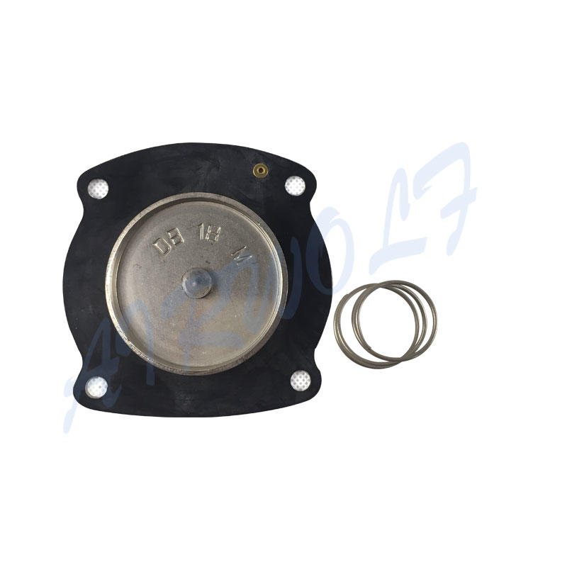 yellow diaphragm valve repair hot-sale air water industry