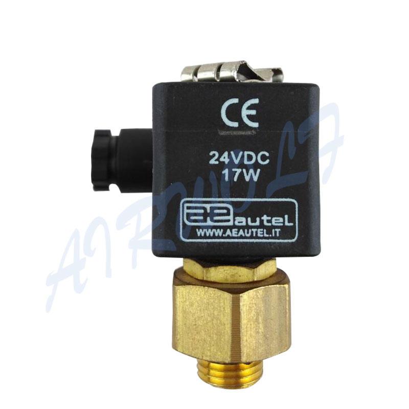 Italy Autel type solenoid Piolt valve DC24V Valve repair kit Yellow