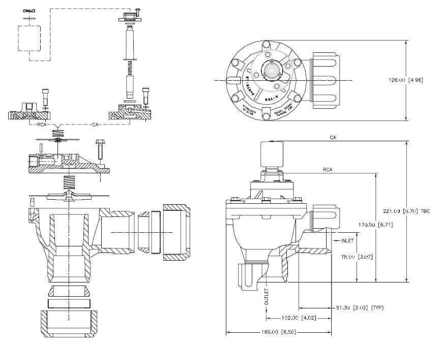 AIRWOLF aluminum alloy pulse motor valve cheap price for sale-6