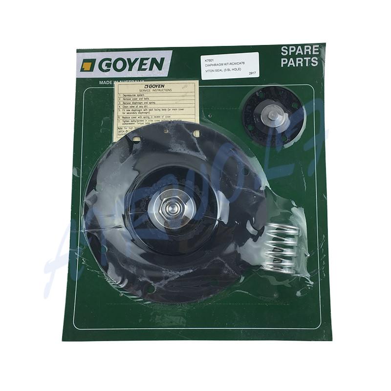 3 inch Goyen type Diaphragm Repair Kit K7600 Nitrile / K7601 Viton for CA76T RCA76T CA76MM RCA76MM-7