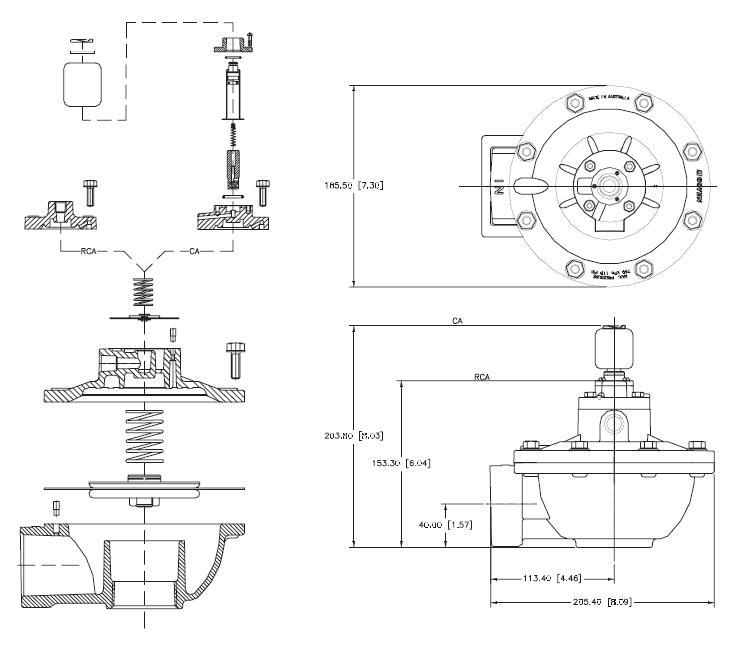 AIRWOLF control valve pulse jet engine custom at sale-6