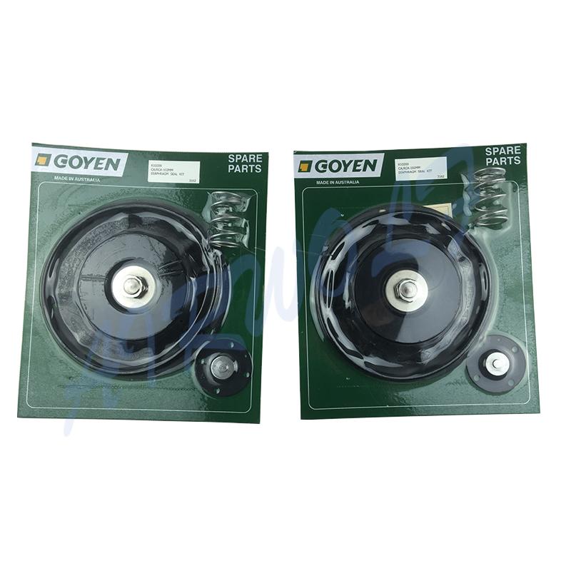 4 inch Double diaphragm pulse jet valve repair kit K10200 Nitrile / K10201 Viton for Goyen type CA102MM RCA102MM-5
