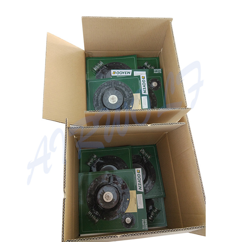 4 inch Double diaphragm pulse jet valve repair kit K10200 Nitrile / K10201 Viton for Goyen type CA102MM RCA102MM-6