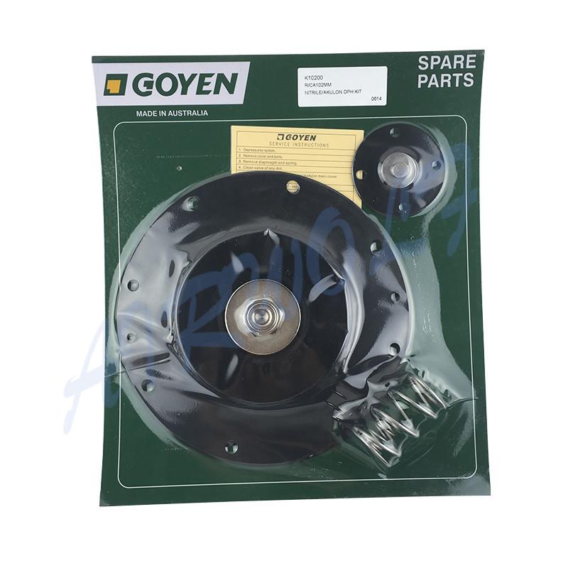 4 inch Double diaphragm pulse jet valve repair kit K10200 Nitrile / K10201 Viton for Goyen type CA102MM RCA102MM-7