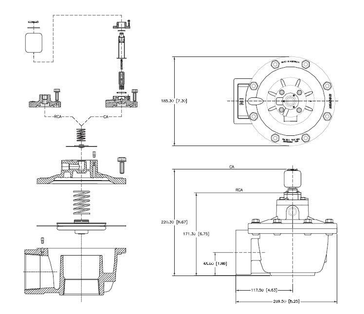 ODM valve pulse jet engine norgren series cheap price dust blowout-6