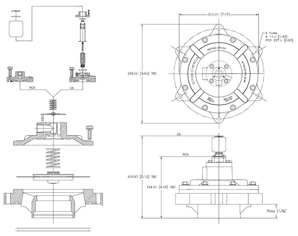 controlled valve pulse jet engine aluminum alloy wholesale dust blowout-6