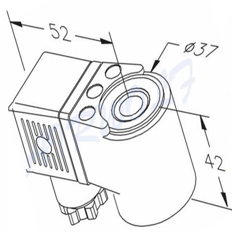 plastic industrial solenoid coils cheap price plunger for enclosures