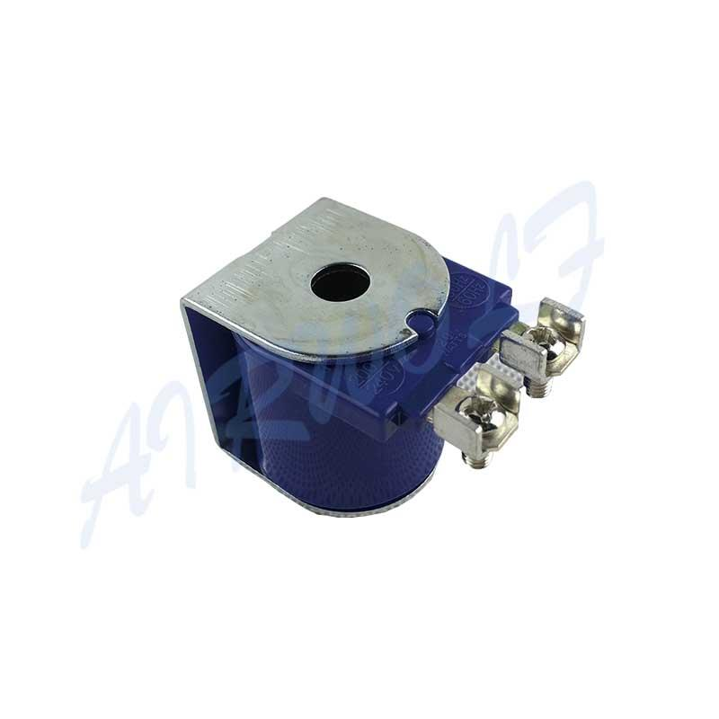 Purple Scew Spade Solenoid Coil K0334 K0335 K0336 K0337 Goyen QT2 Type Electromagnetic Induction Coil