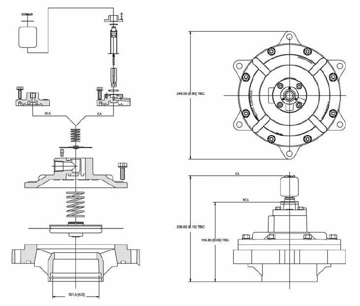 aluminum alloy water pulse valve norgren series dust blowout AIRWOLF-6