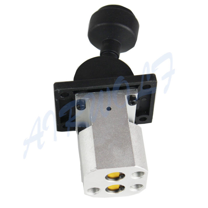 MP301-8606011 Hyva type hydraulic tipping valve With plastic cover and four mounting holes