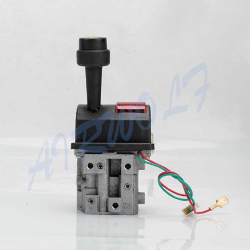 Silver 4 Hole Dump Truck Tipping valve With PTO Switch and Indicator Light BKQF34-C HYVA  type 14750665H
