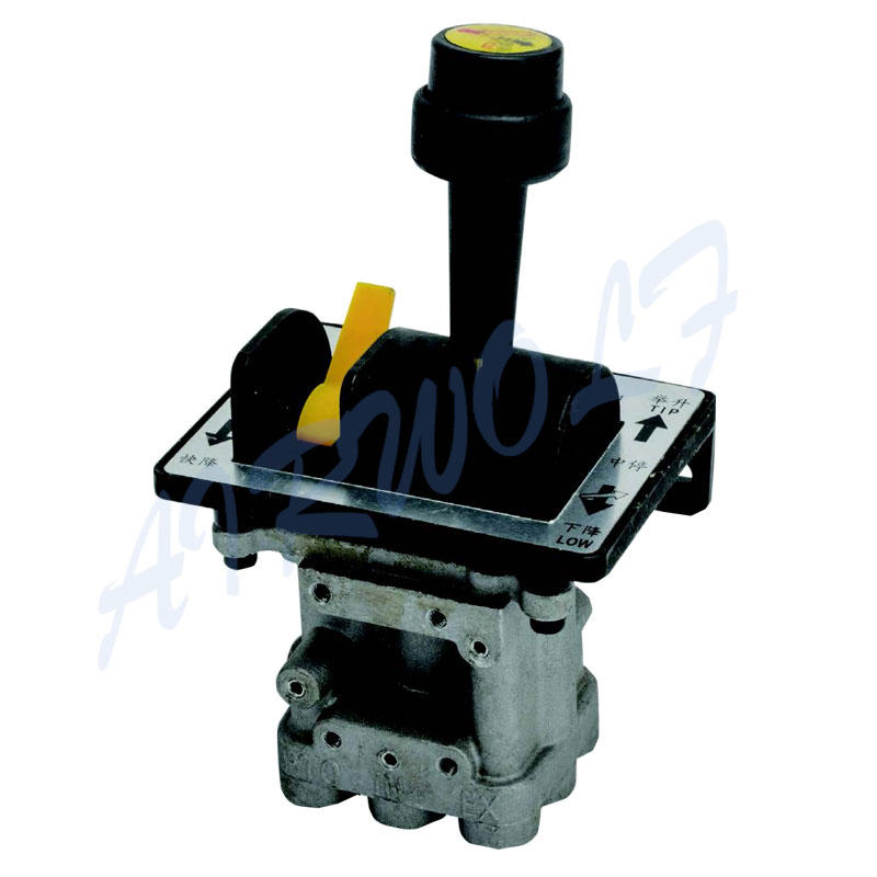 Hyva type 5CV-D dump truck hydraulic valve With PTO Function Aluminum Alloy