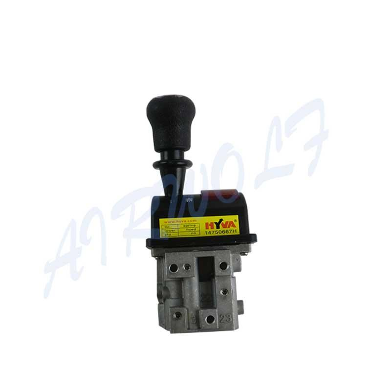 FLYQF34-B HYVA 14750667H with oval rubber handle and PTO Switch Dump Truck Control Valve
