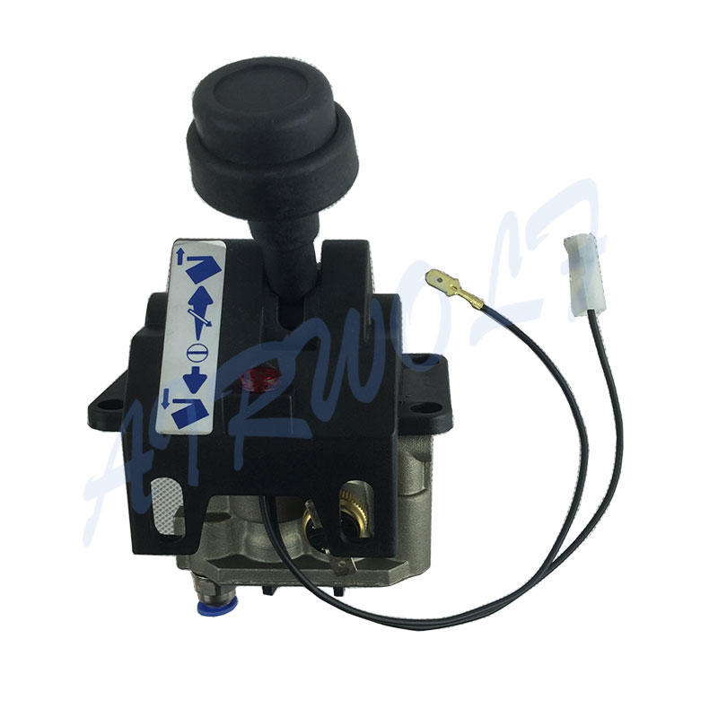 4CV-D air control tipping valve Hyva type Four Hole With PTO