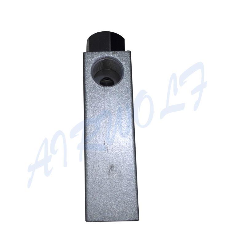 Aluminium Alloy Silver ZK Series 0-60℃ Fluid Temperature Pneumatic Manual Valve ZK-10