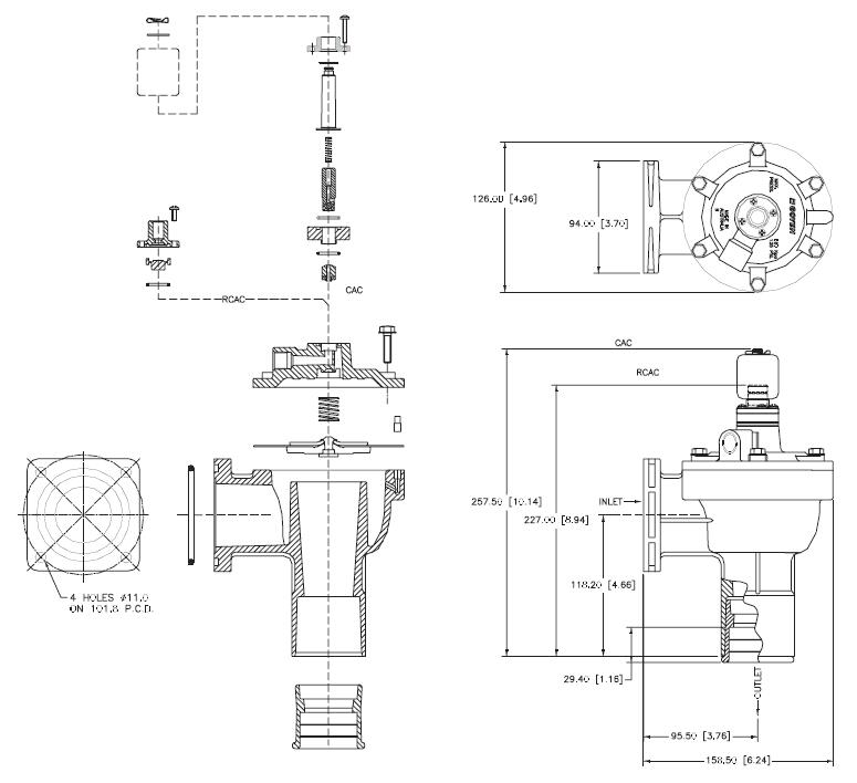 AIRWOLF norgren series pulse valve function custom dust blowout-6