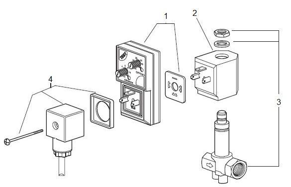 AIRWOLF OEM solenoid water control valve pressure timer gas pipe-5