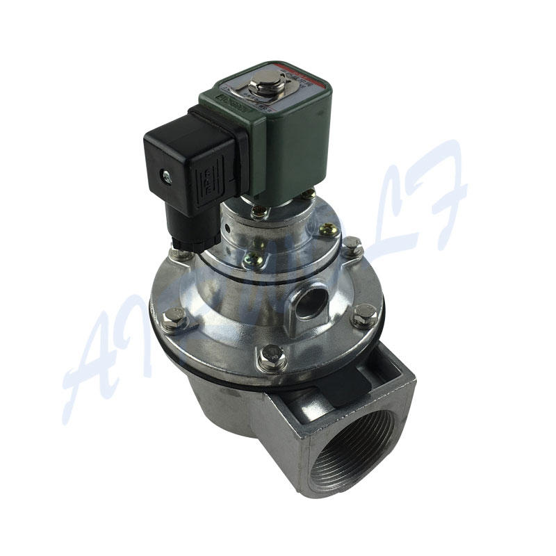 BFEC DMF-Z-40S AC110V Pulse Valves 0.2~0.6MPa Aluminum Alloy 1-1/2