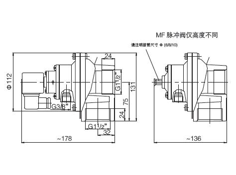 electronic pulse jet valve design aluminum alloy wholesale dust blowout-6